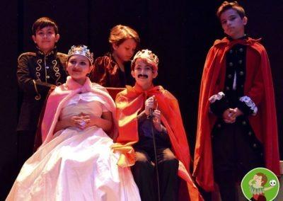 La corona del teatro
